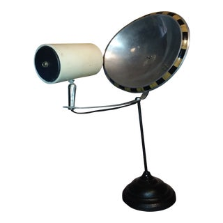 Mid-Century Style Industrial Reflector Lamp For Sale