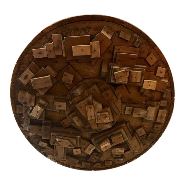 Wood Sculpture by George J. Marinko For Sale