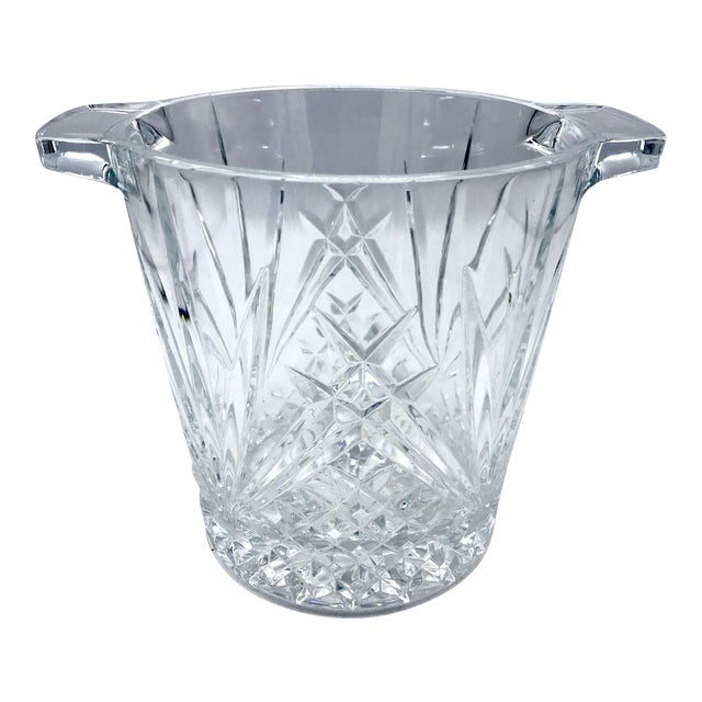 Mid-Century Cut Lead Crystal Ice Bucket / Champagne Cooler - Image 1 of 5