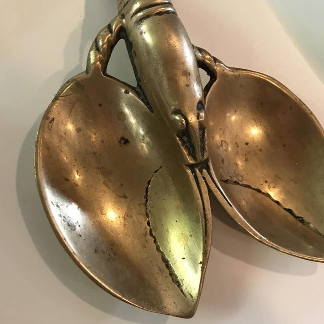 Vintage Brass Lobster - Image 5 of 7
