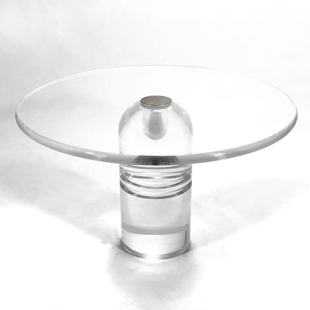 "Gold Charles Hollis Jones ""Le Dome"" Table For Sale - Image 8 of 10"