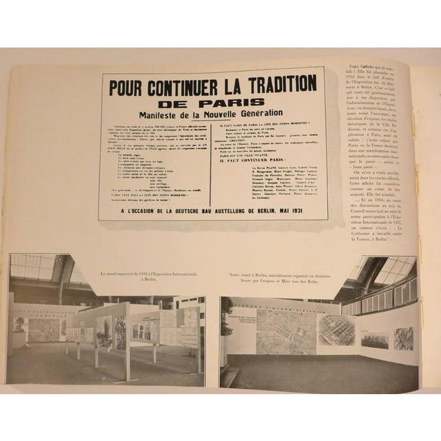 Le Corbusier Book with Inscription For Sale - Image 9 of 10