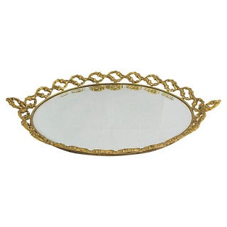 Baroque-Style Vanity Tray For Sale