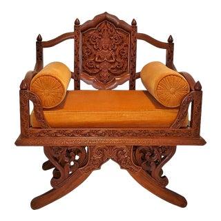 Vintage Thai Howdah Chair For Sale