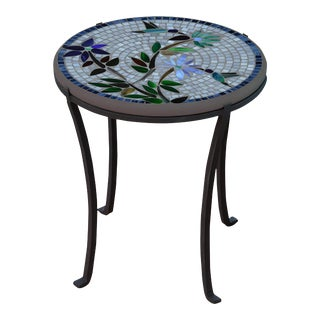 """Royal Hummingbird 18"""" Chaise Table with Black Base For Sale"""