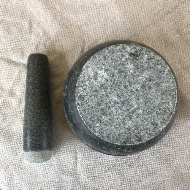 Vintage Stone Mortar & Pestle For Sale In Los Angeles - Image 6 of 10