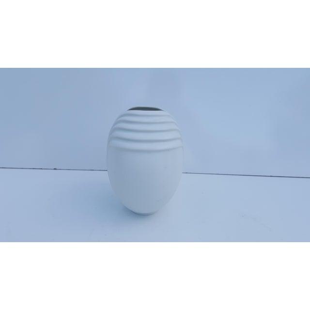 Vintage Rosenthal Germany Studio Linie White Bisque Vase Chairish
