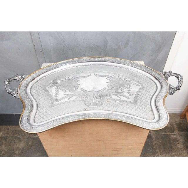 Large Butler Serving Tray For Sale - Image 5 of 8