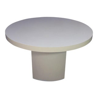 Mid-Century Modern Round Formica Top Coffee Table For Sale