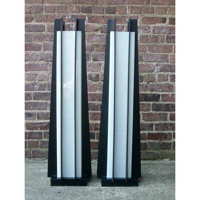 Mid-Century Modern 1960s United States Modeline Table Lamps - Pair For Sale - Image 3 of 7