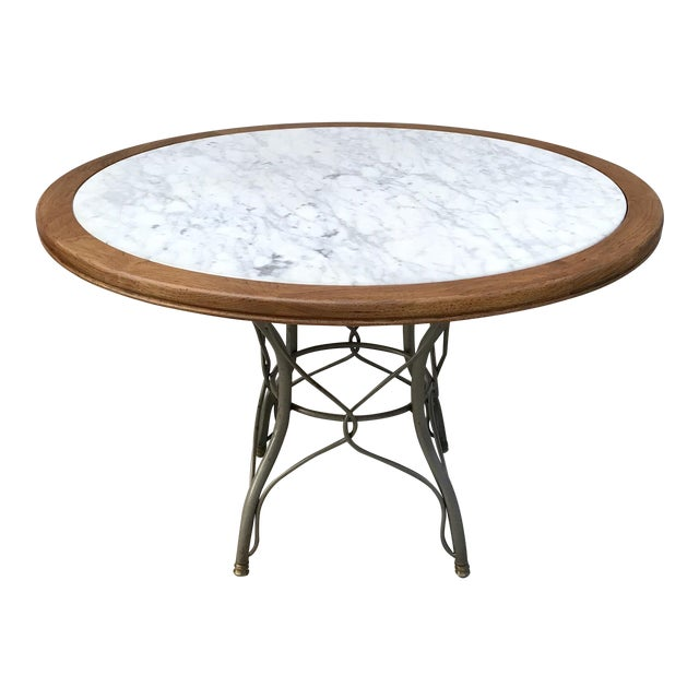 Vintage Italian Marble Table - Image 1 of 5
