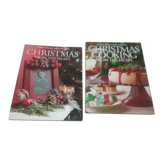 """Southern Living Christmas From the Heart"" Books - 2 Pc. Set For Sale"