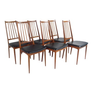 Danish Modern Dining Chairs - Set of 6