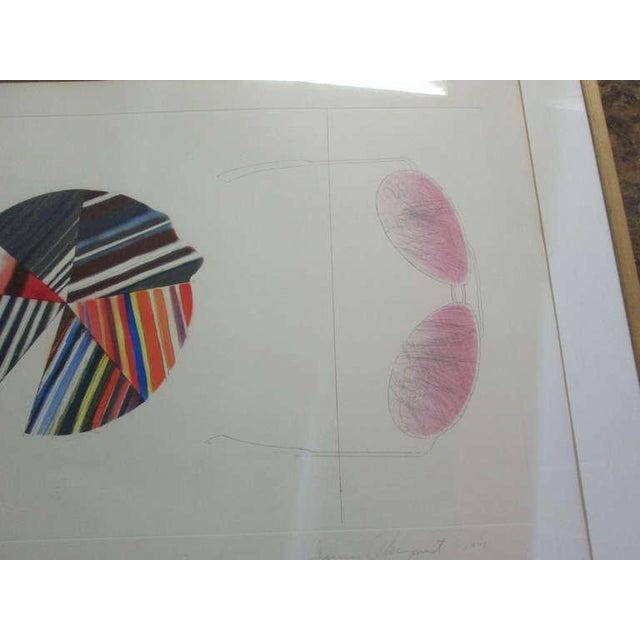 "Modern ""Federal Spending"" by James Rosenquist ed. 18/78 - Pencil Signed For Sale - Image 3 of 8"