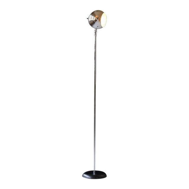 Lovely Robert Sonneman Style Chrome Eyeball Floor Lamp | DECASO