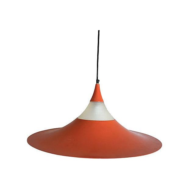 "Fog & Mørup 1960s ""Semi"" Pendant Chandelier by Fog & Morup For Sale - Image 4 of 11"