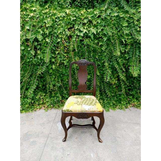 1910s Antique Botanical Cactus Chair For Sale - Image 5 of 9