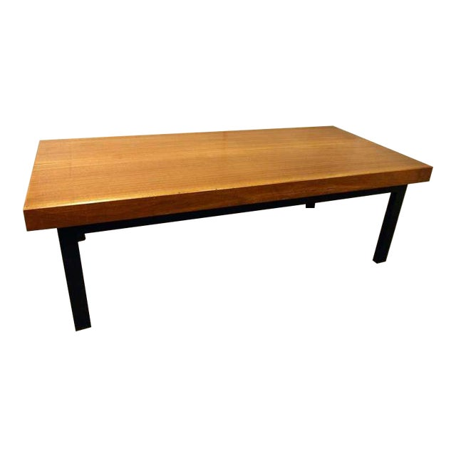 Industrial Coffee Table Ireland: French Mid-Century Industrial Coffee Table / Gallery Bench