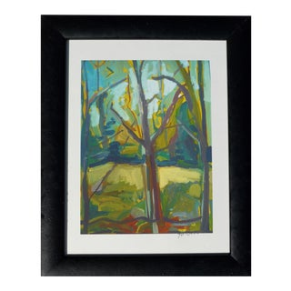 "Martha Holden Impressionist Print, ""Summer Forest"" For Sale"