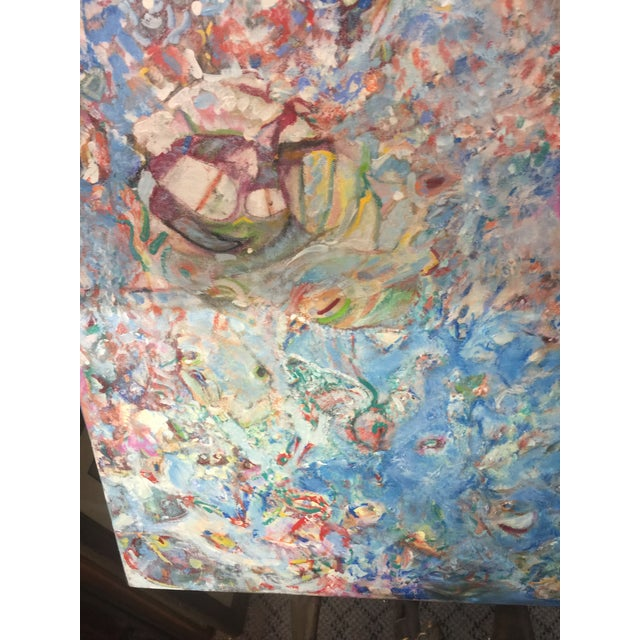 Abstract Richard Royce Oil Painting Out of the Ether II For Sale - Image 3 of 6