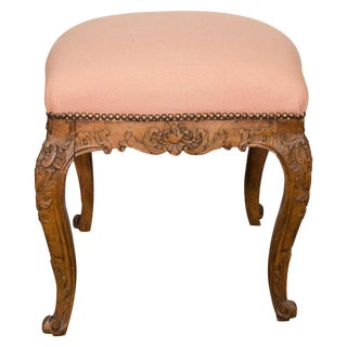 Louis XV Oak Stool For Sale