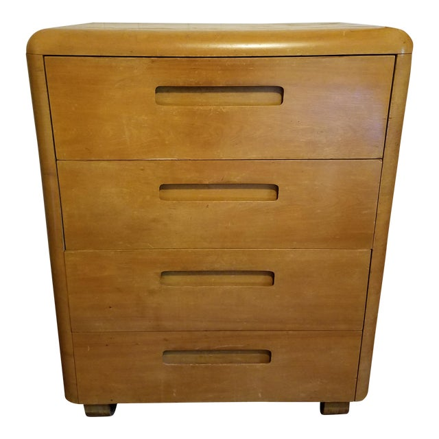 Plycraft Paul Goldman Highboy Chest For Sale