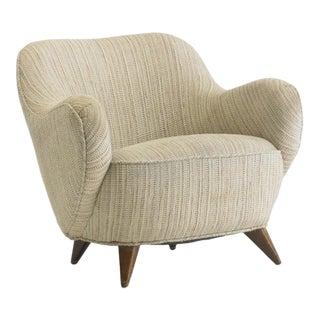 Vladimir Kagan Barrel Lounge Chair For Sale