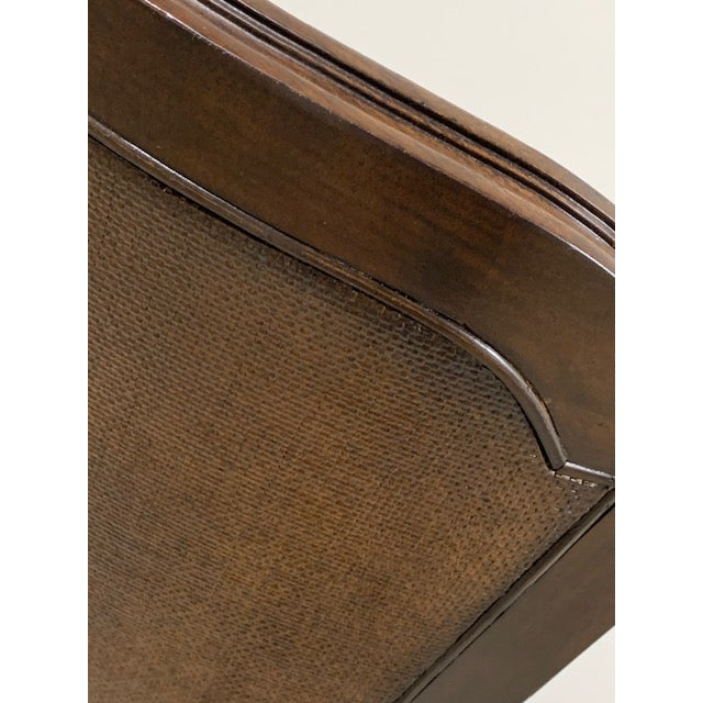2010s Universal Furniture Woven Accent Side Chair For Sale - Image 5 of 6