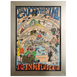 """The Guggenheim 10 Independents"" by Red Grooms For Sale"