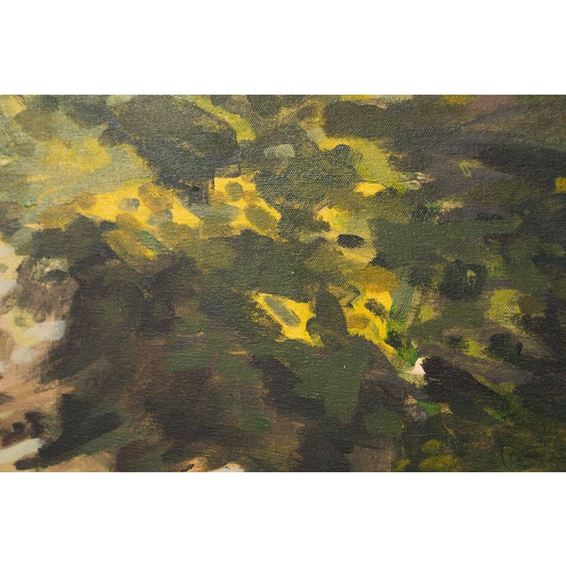 """Slater Sousley, """"The Overgrowth on the Bank"""" For Sale - Image 4 of 8"""