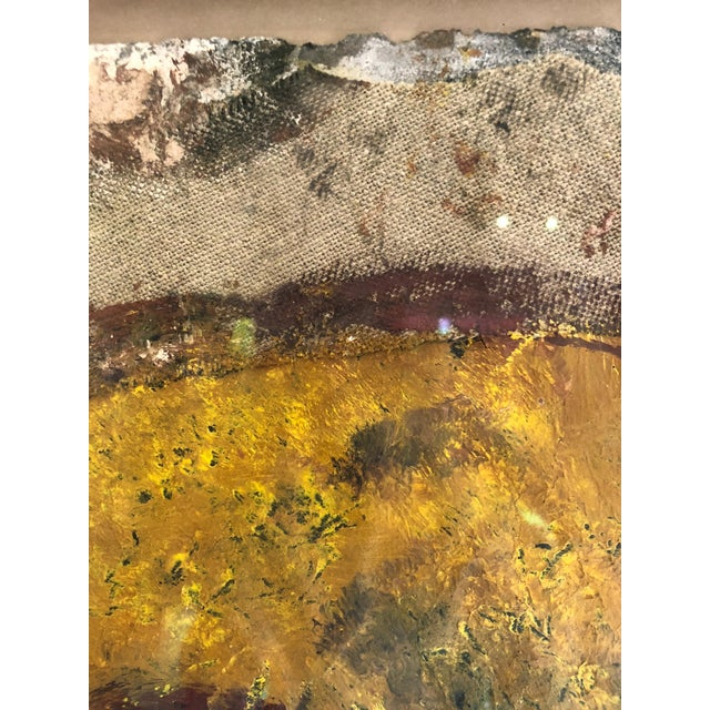 Mixed-Media Painting and Collage by Barcelona Artist For Sale - Image 9 of 12