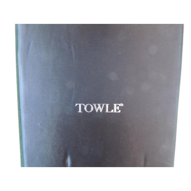 Mid-Century Modern Towle Silver Plated Bar Set With Case. For Sale - Image 3 of 5