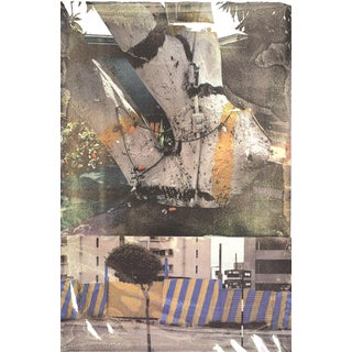 Robert Rauschenberg, Fashion (Tribute 21), 1994 Offset Lithograph, Signed For Sale