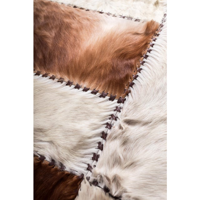 """Aydin Cowhide Patchwork Accent Area Rug - 6'0"""" x 6'7"""" - Image 5 of 9"""