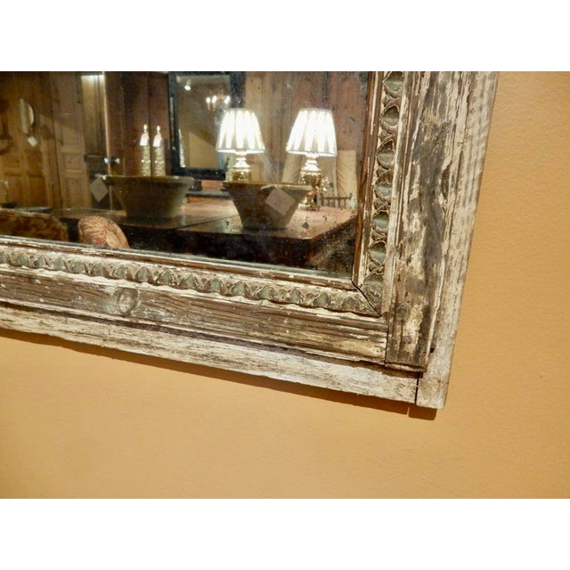 Rustic French Provincial Trumeau For Sale - Image 4 of 6