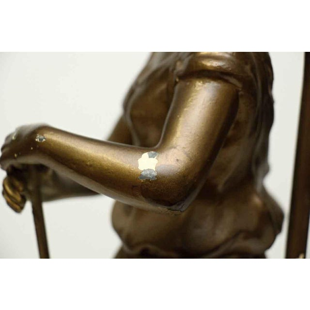 Figural Lamp For Sale - Image 10 of 10