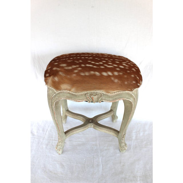 Louis XV Style Stool For Sale - Image 4 of 7