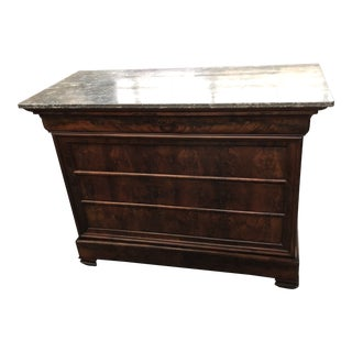 19th Century French Louis Philippe Mahogany Commode