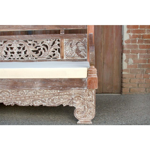 2000 - 2009 Dee Opium Lime Washed Daybed For Sale - Image 5 of 9