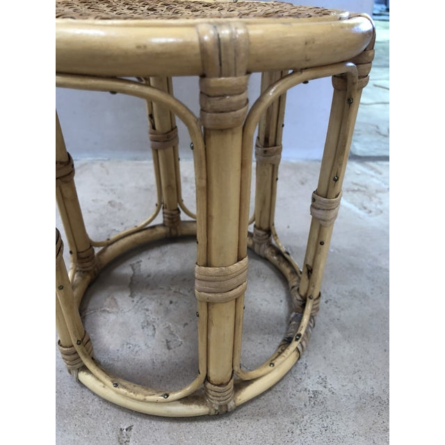 Bamboo Vintage Bamboo Plant Stand For Sale - Image 7 of 8