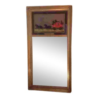 C. 1900 English Gilted Mirror For Sale