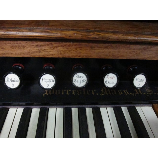 Loring & Blake Palace Organ For Sale - Image 9 of 10