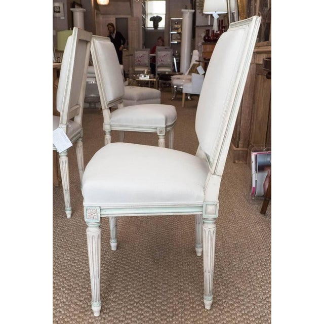 Louis XVI Style Dining Chairs - Set of 6 For Sale In New York - Image 6 of 9