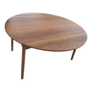Mid Century Teak Dining Table For Sale