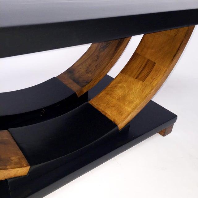 Brown Saltman Deco Coffee Table - Image 2 of 3