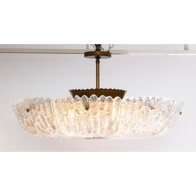 Massive Carl Fagerlund Pendant Fixture for Orrefors For Sale - Image 12 of 13