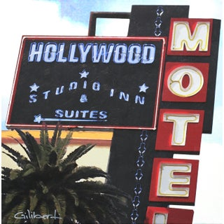 """Hollywood Suites"" Original Artwork by Michael Giliberti For Sale"