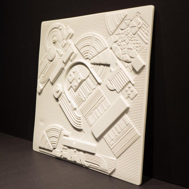 Rosenthal Studio Line Eduardo Paolozzi Plaque for Rosenthal For Sale - Image 4 of 9