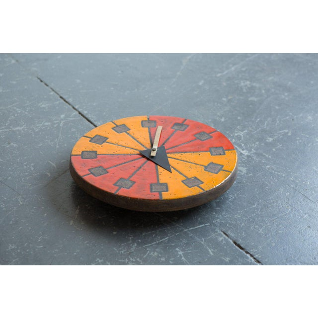 This wall clock was designed in the 1960's by George Nelson for Howard Miller Clock company of Zeeland Michigan. The...