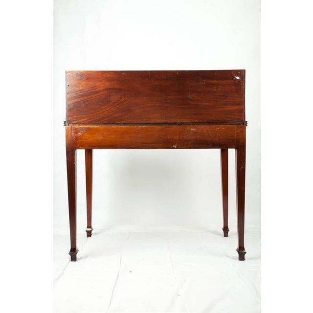 Early 20th Century Wood Secretary Desk For Sale - Image 5 of 6